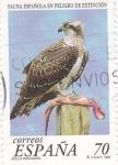 Stamps Spain -  fauna española en peligro de extinción    (C)