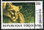 Sellos de Africa - Togo -  Mamíferos.
