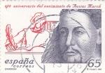 Sellos de Europa - España -  600 aniversario del nacimiento de Ausias March    (C)