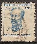 Sellos del Mundo : America : Brasil : Floriano Vieira de Araújo Peixoto. Mariscal y político.