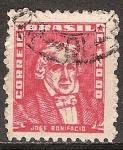 Sellos del Mundo : America : Brasil : José Bonifacio.