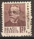 Sellos de America - Brasil -  Campos Salles.