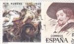 Stamps Spain -  Rubens 1577-1640     (C)