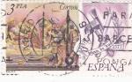 Stamps Spain -  Juan de Juni 1507-1577    (C)