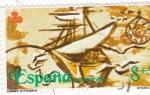 Sellos de Europa - España -  Caravelas    (C)