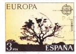 Sellos de Europa - España -  Parque nacional Doñana    C)