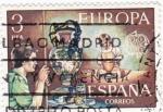 Stamps Spain -  Jarrón de talavera    (C)
