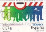 Stamps Spain -  Lucha contra el tráfico de personas   (C)