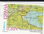 Stamps Spain -  Cartografía    (C)