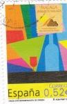 Sellos de Europa - España -  vinos con denominación de origen -Málaga    (C)
