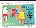 Sellos de Europa - España -  Valores cívicos - Dona sangre   (C)