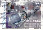 Stamps Spain -  Investigación núclear   (C)