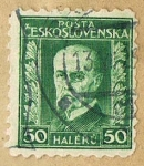 Stamps : Europe : Czechoslovakia :  POSTA CESKOSLOVENSKA