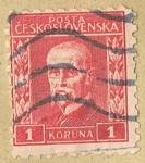 Stamps Czechoslovakia -  POSTA CESKOSLOVENSKA