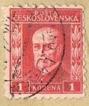 Stamps Europe - Czechoslovakia -  POSTA CESKOSLOVENSKA