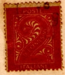 Sellos de Europa - Italia -  Italy 1874 Offices Levant, overprint omitted