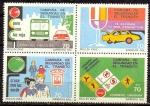 Stamps : America : Uruguay :  CAMPAÑA E SEGURIDAD EN EL TRANSITO