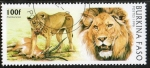 Stamps Africa - Burkina Faso -  Michel 1437. Mamíferos.
