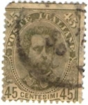 Stamps of the world : Italy :  Italy 1893