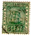 Stamps Guyana -  BRITISH GUIANA 1889