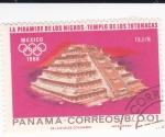 Sellos de America - Panamá -  Templo de los Totonacas