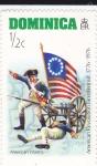 Stamps Dominica -  Bicentenario revolución americana 1776-1976