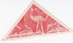 Stamps Chad -  pinturas rupestres