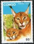 Stamps Republic of the Congo -  Mamíferos.