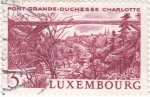 Stamps Europe - Luxembourg -  Pont-grande-Duchesse Charlotte