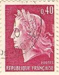 Sellos de Europa - Francia -  Postes