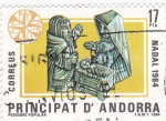 Sellos de Europa - Andorra -  Nadal 1984