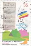 Stamps Andorra -  Arxiu Patrimoni cultural d´Andorra