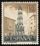 Stamps Spain -  ESPAÑA - Los castells
