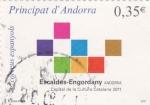Sellos de Europa - Andorra -  Escaldes-Engordany capital de la cultura Catalana 2011