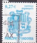 Sellos de Europa - Andorra -  escudo