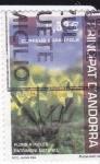 Stamps Andorra -  Flors a Incles-Patrimoni natural