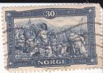 Stamps Norway -  batalla