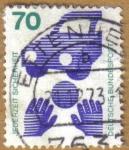 Stamps Germany -  Accidentes de trabajo