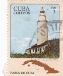 Stamps Cuba -  Faros cubanos -faro Cayo Piedras del Norte