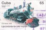 Sellos de America - Cuba -  Locomototas de vapor