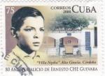 Sellos de America - Cuba -  80 aniversario natalicio de Ernesto