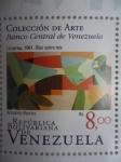 Stamps Venezuela -  La pareja 1961.Oleo sobre tela.Colección de Arte. Autor:Armando Barrios 3de6