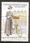 Sellos del Mundo : Oceania : Australia : Centenario de Servicios de Enfermería del Distrito. Enfermera del Distrito del año 1900.