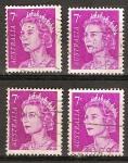 Sellos del Mundo : Oceania : Australia : La reina Isabel II.