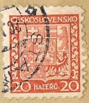 Stamps : Europe : Czechoslovakia :  CESKOSLOVENSKO