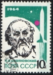 Stamps Russia -  Michel  2899. Space tecthnology.