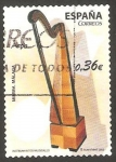 Stamps Spain -  Arpa, instrumento musical