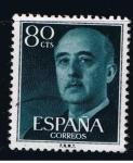 Sellos de Europa - España -  Edifil  1152  General Franco.