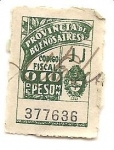 Stamps : America : Argentina :  Cod Fiscal