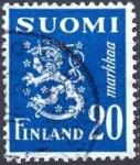 Sellos de Europa - Finlandia -  Coat of arms